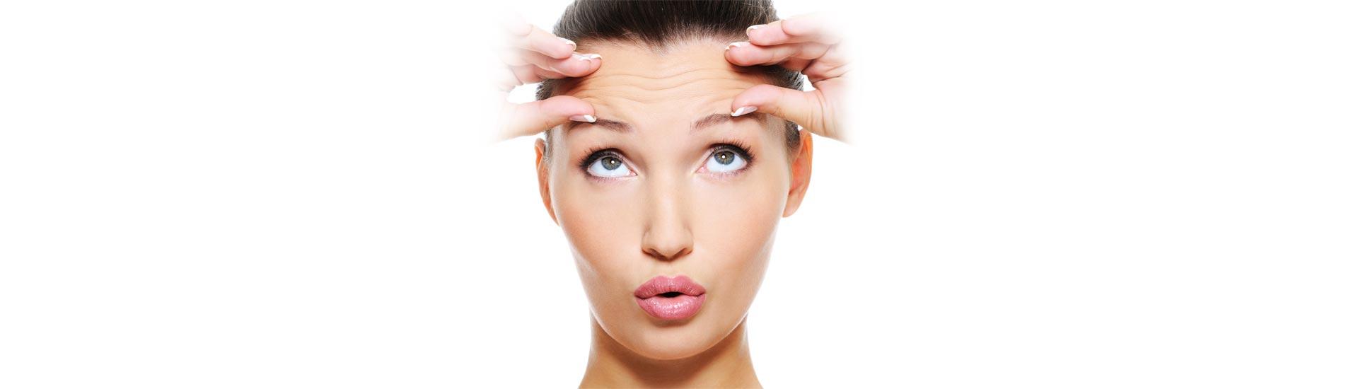 Hautarztpraxis am Roseneck - Stirnfalte (Botulinum)